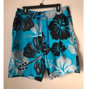 Okanu Men's Swim Trunks Blue Size 34
